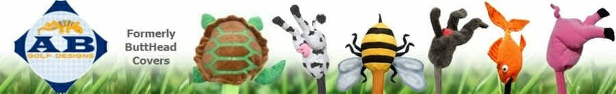 AB Designs ButtHead Golf Headcovers
