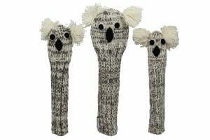 Knit Animal Golf Headcover Set